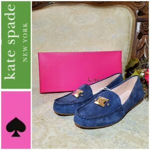 Kate Spade Suede Leather Lofers Shoes